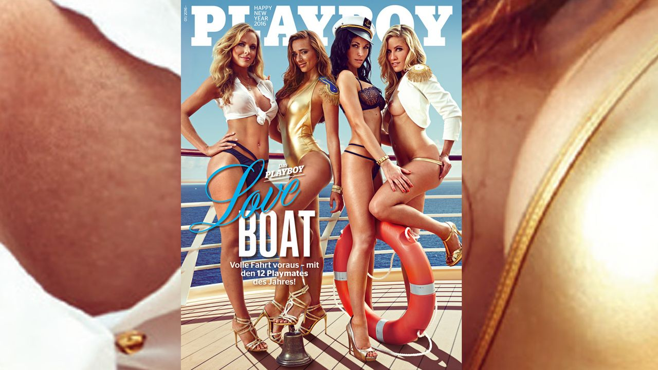 Playboy_Cover_Januar_2016 - Bildquelle: Sacha Eyeland für Playboy Januar 2016