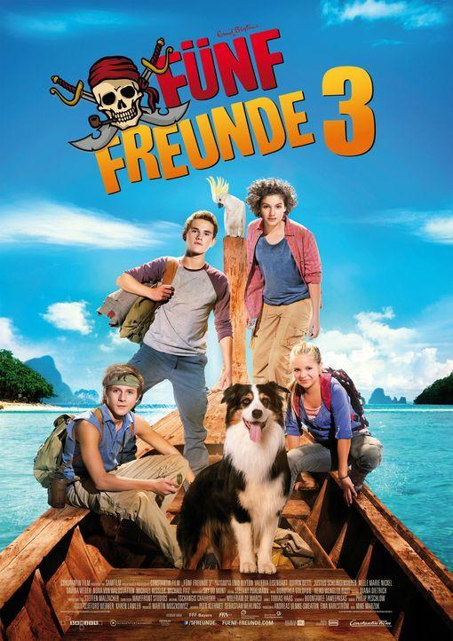 FÜNF FREUNDE 3 - Plakatmotiv - Bildquelle: Bernd Spauke Constantin Film Verleih GmbH