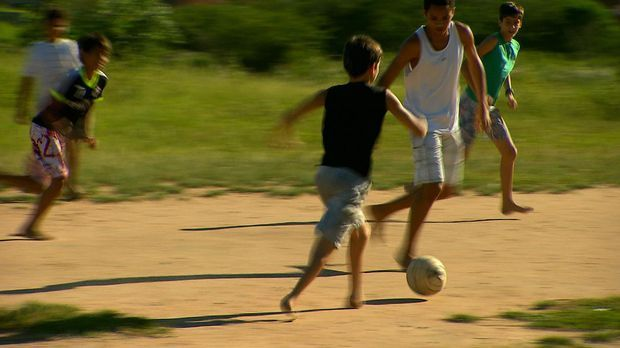 Fußballjunge