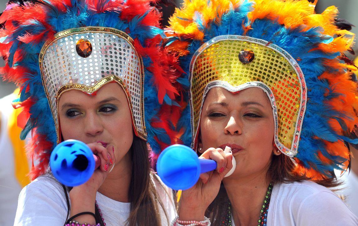 Die kolumbianischen Fans - 2 - Bildquelle: Guillermo Legaria/AFP