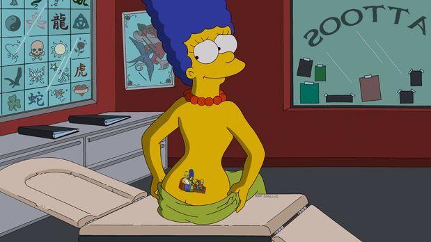 Die Simpsons - Während Homer entsetzt ist, dass Bowlingkumpel Dan Gillick für...