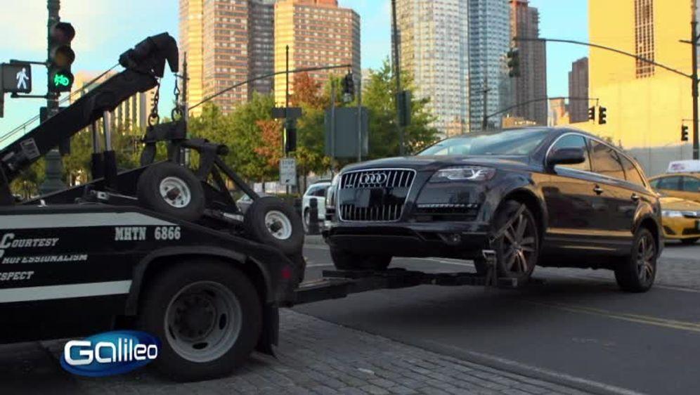 Verkehrswahnsinn: China und New York