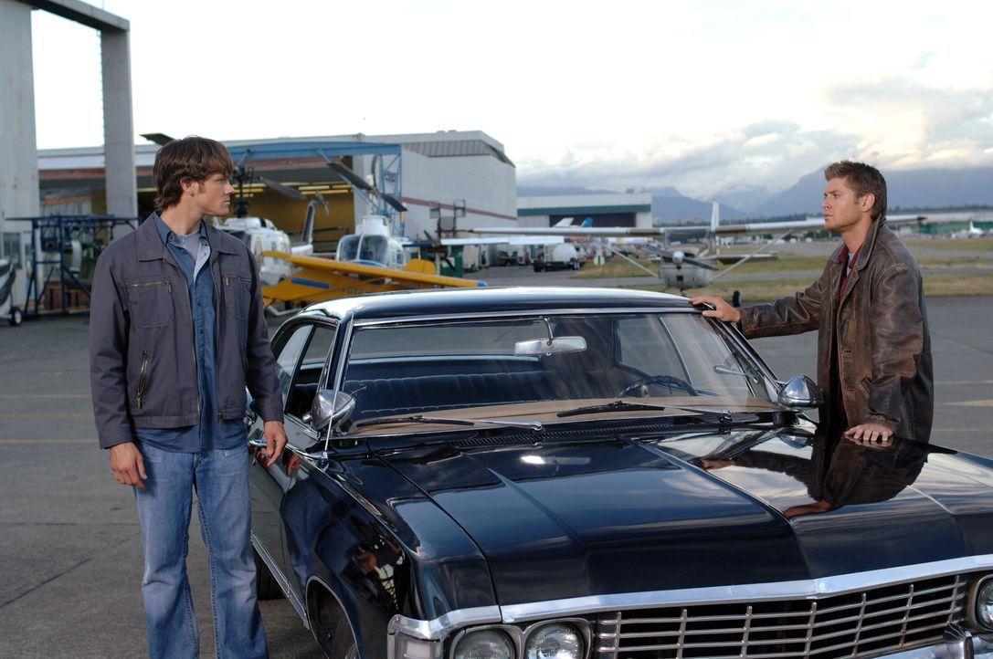 Ein neues Abenteuer wartete auf Sam (Jared Padalecki, l.) und Dean (Jensen Ackles, r.) ... - Bildquelle: Warner Bros. Television