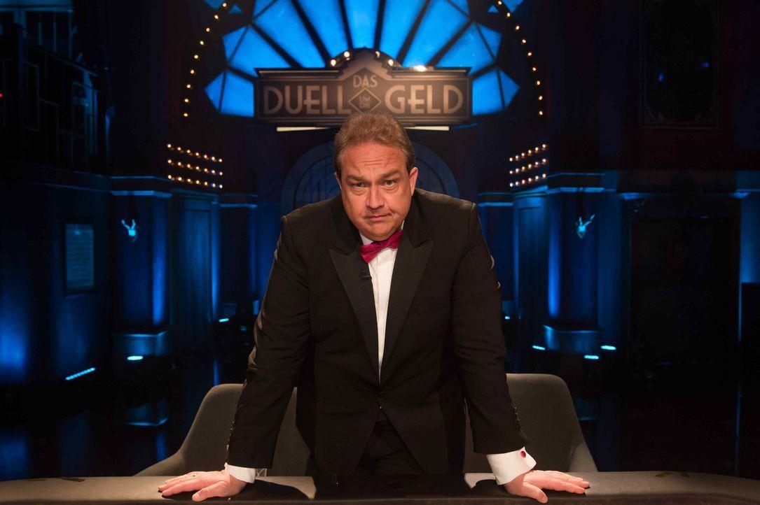 """""""Das Duell um die Geld"""" wird von Oliver Kalkofe moderiert ... - Bildquelle: Claudius Pflug ProSieben"""