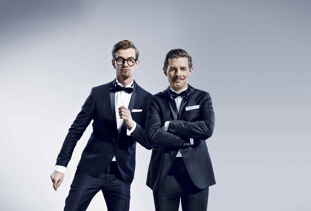 Wer, wenn nicht Joko (l.) und Klaas (r.), sollte bei den besten TV-Streichen by ProSieben vertreten sein? - Bildquelle: Andreas Franke ProSieben