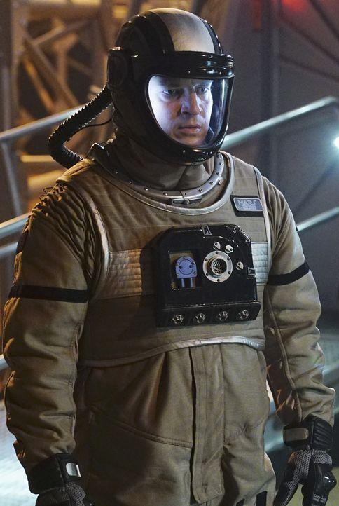Eigentlich geht für Castle (Nathan Fillion) mit den Ermittlungen in der Marssimulation ein Traum in Erfüllung. Der Mord hingegen ist für ihn nicht a... - Bildquelle: Richard Cartwright ABC Studios
