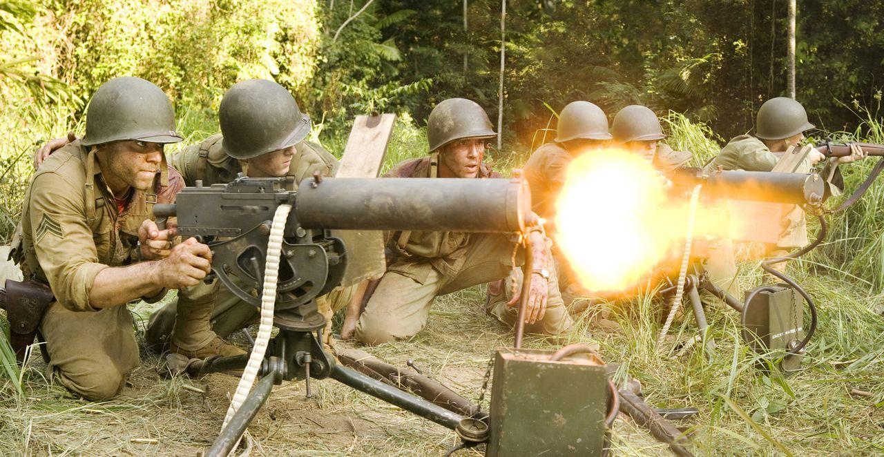 Der Kampf auf Guadalcanal geht weiter - es gilt, das Flugfeld Henderson Field zu verteidigen, das die Japaner zurückerobern wollen. Die Situation wi... - Bildquelle: Home Box Office Inc. All Rights Reserved.