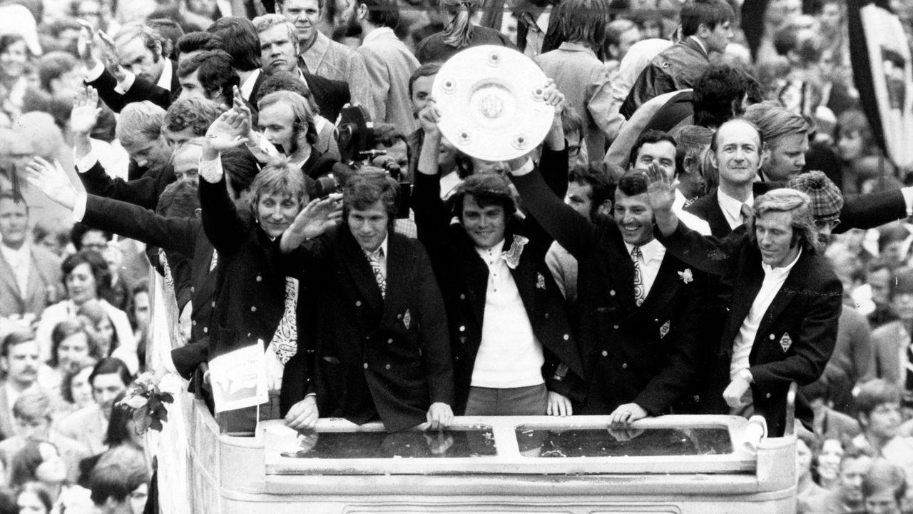 Borussia Mönchengladbach (Saison 1970/71) - Bildquelle: imago sportfotodienst