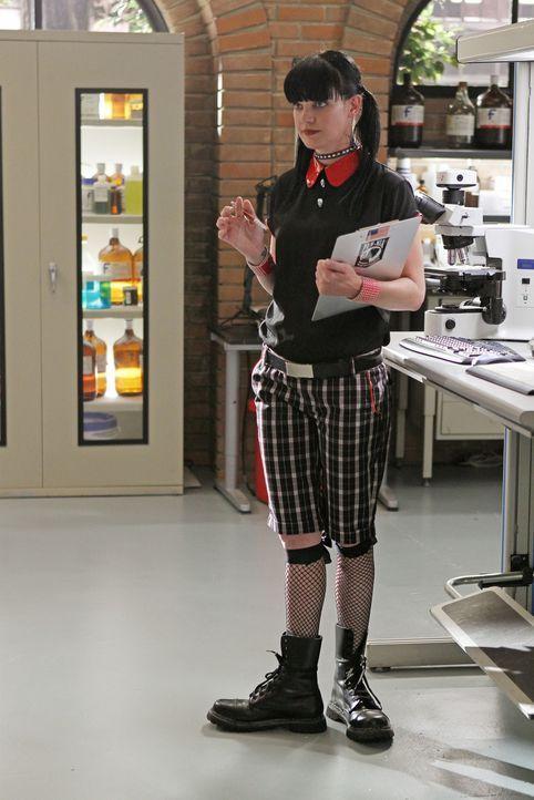 Gibt alles, um einen Fall aufzuklären: Abby (Pauley Perrette) ... - Bildquelle: CBS Television
