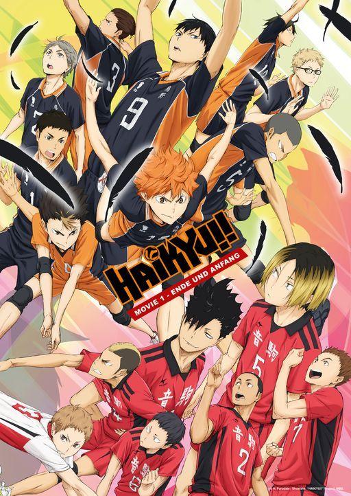 Haikyu!! - Ende und Anfang - Artwork - Bildquelle: H. Furudate / Shueisha, HAIKYU!! Project, MBS