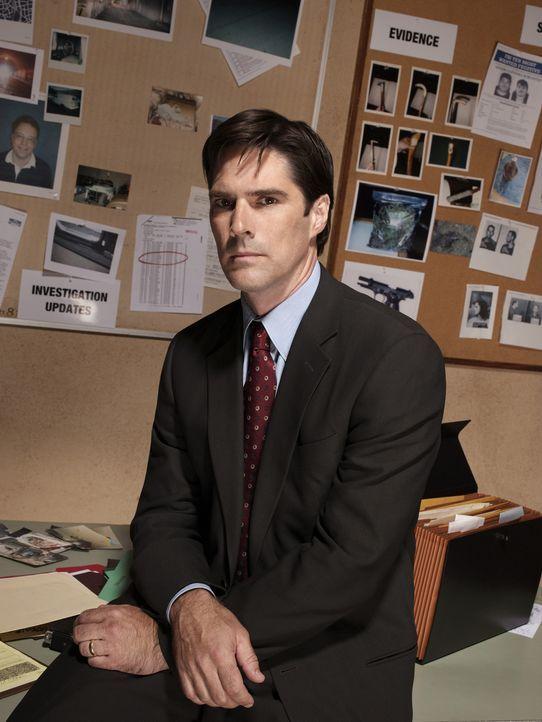 (1. Staffel) - Sorgt für Gerechtigkeit: Agent Aaron Hotchner (Thomas Gibson) ... - Bildquelle: Touchstone Television