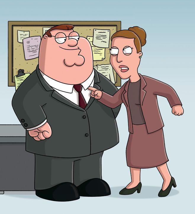 Peter (l.) setzt alles daran, in die Chefetage aufzusteigen. Wird seine Chefin Angela (r.) schon bald bereuen, sich für ihn eingesetzt zu haben? - Bildquelle: 2006-2007 Twentieth Century Fox Film Corporation. All rights reserved.