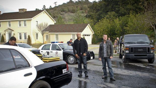 Ein neuer Fall wartet auf Callen (Chris O'Donnell, M.r.) und Sam (LL Cool J,...