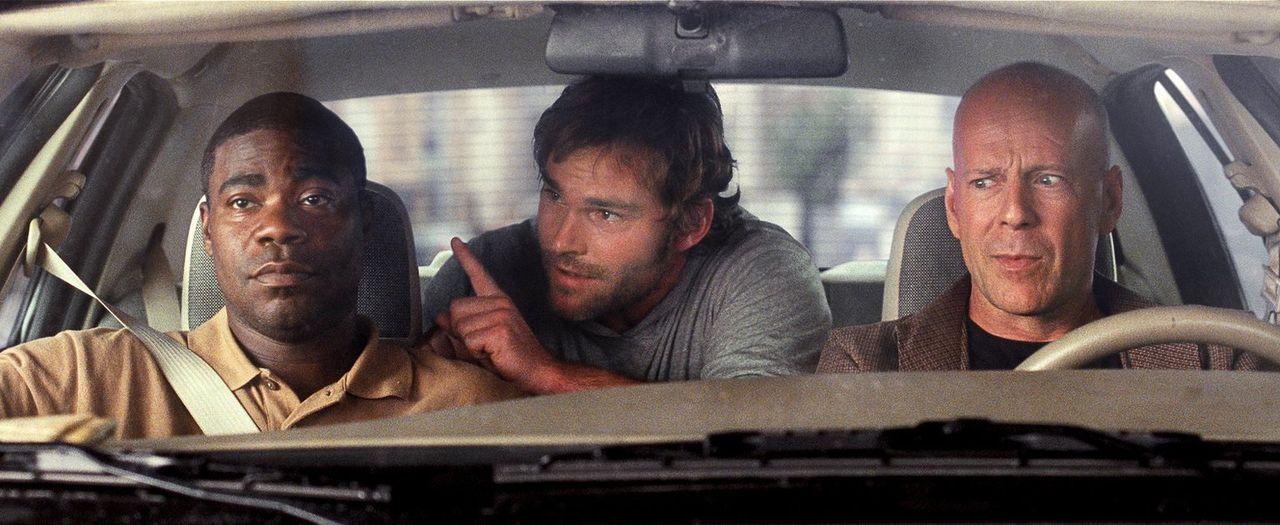 Um eine Baseballsammelkarte aus dem Anwesen eines Gangsterbosses zu klauen, holen die beiden suspendierten New Yorker Cops Paul (Tracy Morgan, l.) u... - Bildquelle: 2010 Warner Bros.