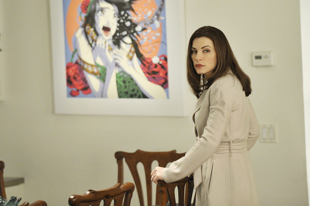 Arbeitet an einem neuen Fall: Alicia (Julianna Margulies) ... - Bildquelle: CBS Studios Inc. All Rights Reserved.