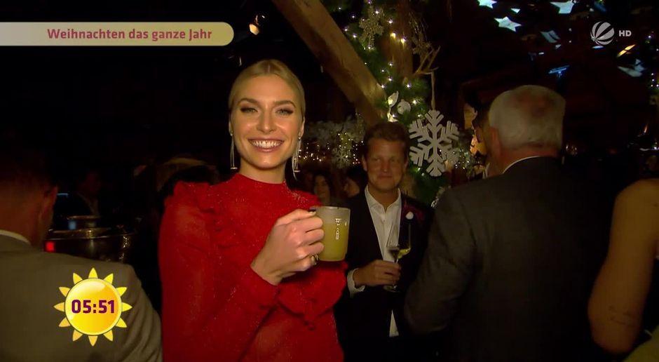 Frühstücksfernsehen - Video - Lena Gercke: Das ganze Jahr in ...