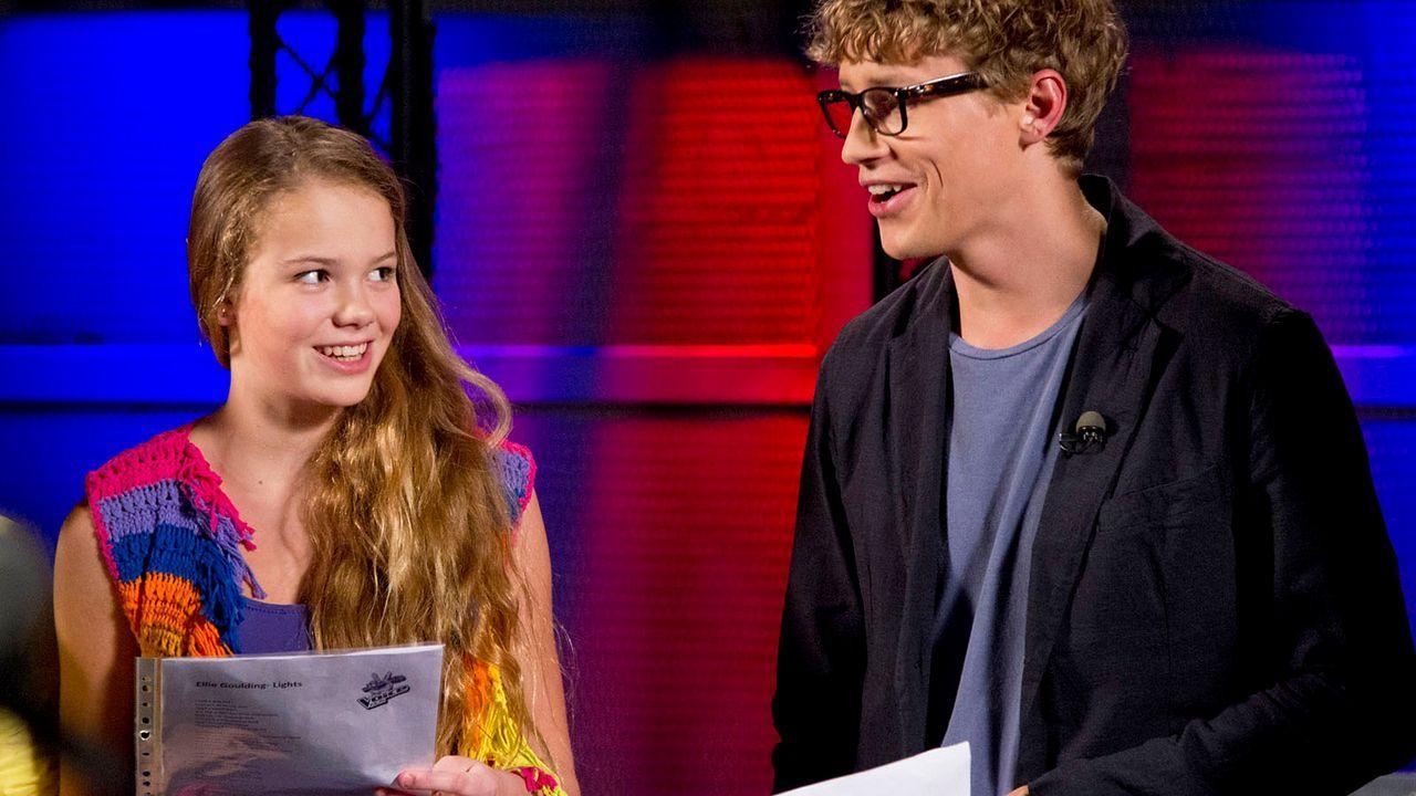 The-Voice-Kids-epi04-LaraMarie-31-SAT1-Richard-Huebner - Bildquelle: SAT.1/Richard Hübner