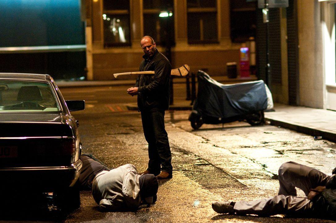 Zeigt jedem Spitzbuben, was eine Harke ist: der toughe Cop Brant (Jason Statham) ...