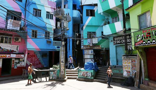 Facetten von Rio de Janeiro - Bildquelle: dpa