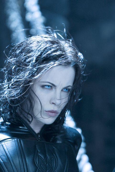 Kann nicht verstehen, warum ihr ihre eigene Familie in den Rücken fällt: Vampirin Selene (Kate Beckinsale) ... - Bildquelle: Sony Pictures Television International. All Rights Reserved.