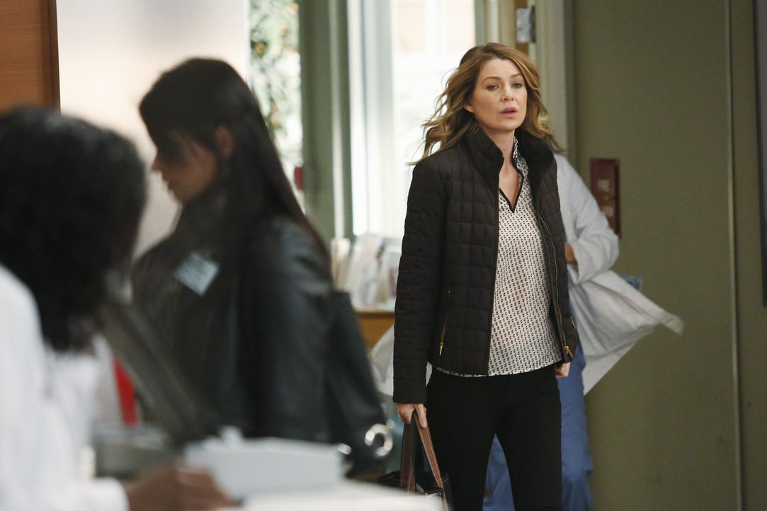 Merediths (Ellen Pompeo) Hilfe ist gefragt. Sie soll eine unangenehme Nachricht überbringen ... - Bildquelle: ABC Studios