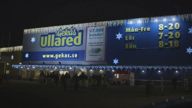 Weihnachtswahnsinn im größten Supermarkt der Welt