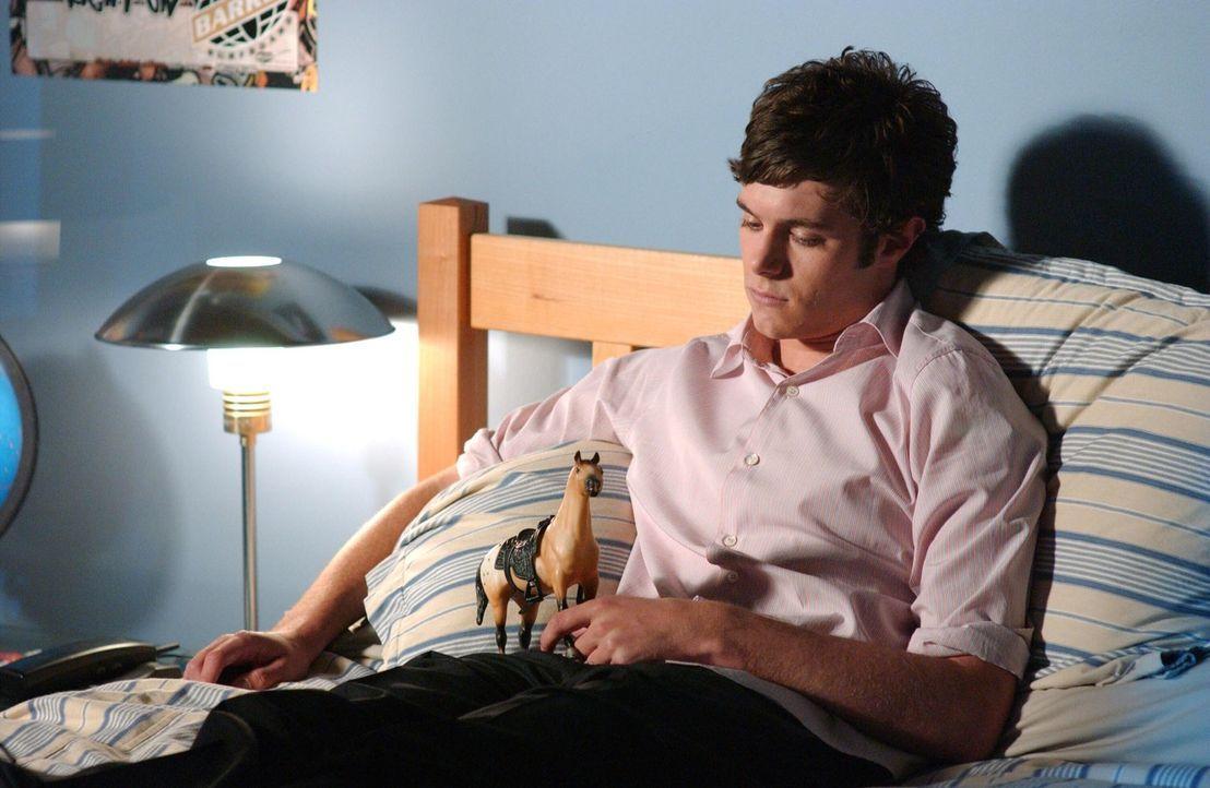 Nachdem Seth (Adam Brody) Summer in der Schule getroffen hat, zieht er sich zurück in seine Zimmer und versinkt im Selbstmitleid ... - Bildquelle: Warner Bros. Television
