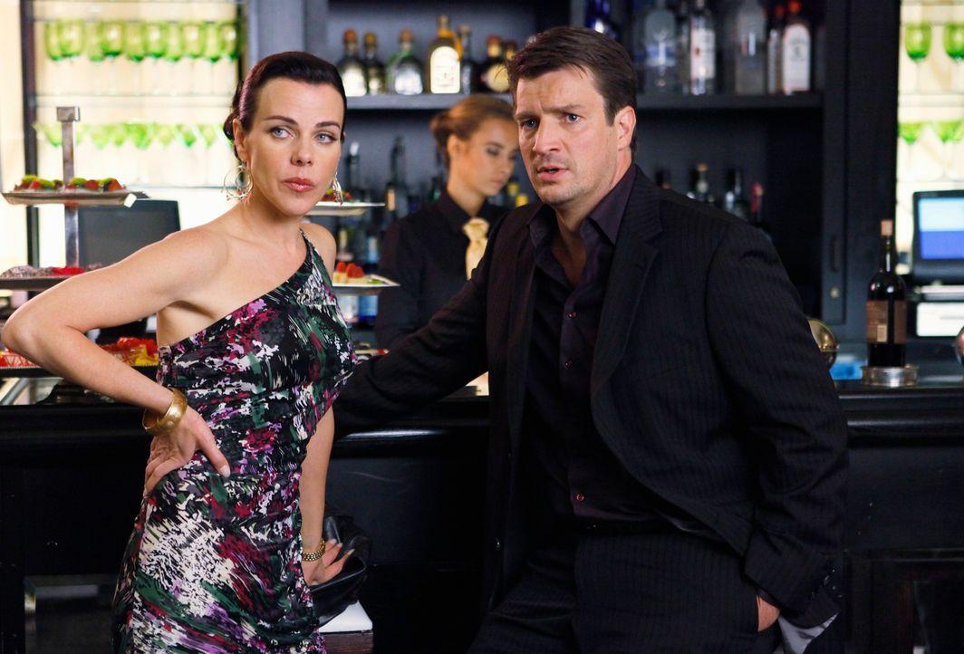 Paula (Debir Mazar, l.) gibt Richard Castle (Nathan Fillion, r.) einen gut gemeinten Rat ... - Bildquelle: ABC Studios