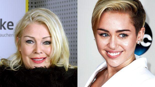 Miley cyrus mit neuem image untersttzung von kim wilde prosieben altavistaventures Images