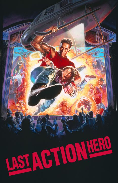 LAST ACTION HERO - Plakatmotiv - Bildquelle: 1993 Columbia Pictures Industries, Inc. All Rights Reserved.