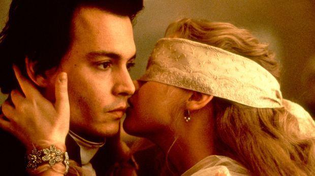 Blind Date mal anders: der junge Gendarm Ichabod Crane (Johnny Depp, l.) und...