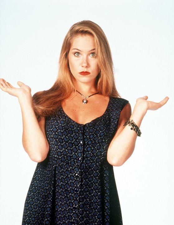(9. Staffel) - Kelly (Christina Applegate) ist nur ein dummes Blondchen ... - Bildquelle: Sony Pictures Television International. All Rights Reserved.