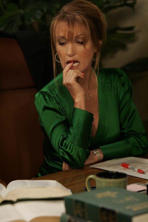 Seit ihrer Scheidung vergibt Professorin Lewis (Jane Seymour) nur noch schlechte Noten - Marshall ist deshalb völlig verzweifelt ... - Bildquelle: 20th Century Fox International Television
