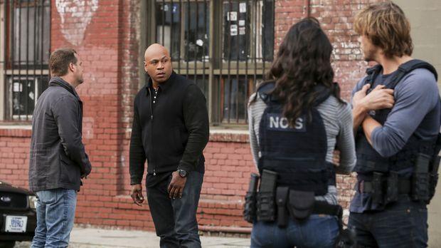 Im Alleingang beschließt Sam (LL Cool J, 2.v.l.) seine entführte Ehefrau zu s...