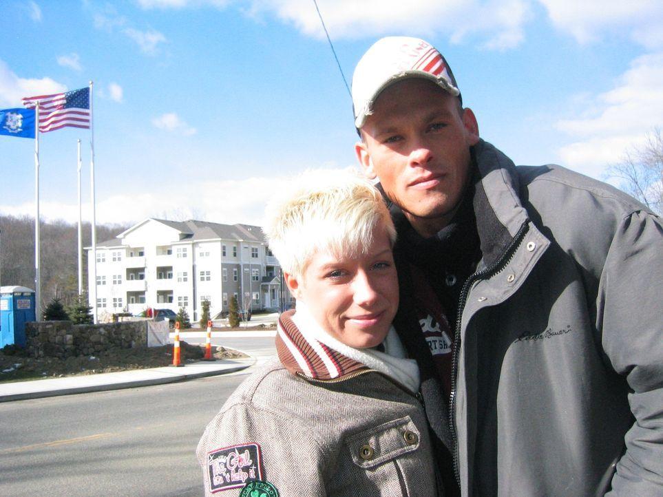 Anja Leiter (l.) und ihr Lebensgefährte Christian Duffke (r.) lieben die USA  - und haben sie zu ihrer neuen Heimat gemacht. Seit sieben Monaten leb... - Bildquelle: kabel eins