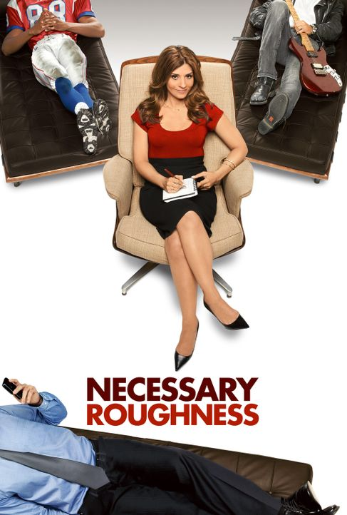 (1. Staffel) - Necessary Roughness: Hat nicht jeder ein Problem? Psychologin Danielle Santino (Callie Thorne) berät ein Footballteam ... - Bildquelle: 2011 Sony Pictures Television Inc. and Universal Network Television LLC.  All Rights Reserved.