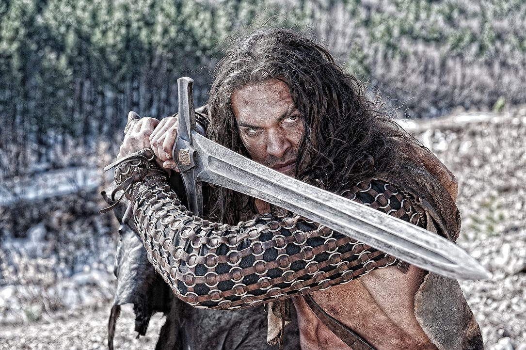 Zwischen Conan (Jason Momoa) und Khalar Zym entbrennt ein Kampf auf Leben und Tod ... - Bildquelle: Nu Image Films