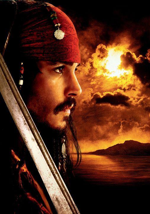 Dort, wo Freiheit, Abenteuer und Lebenslust in der Luft liegen, fühlt sich der verwegene und charmante Haudegen Captain Jack Sparrow (Johnny Depp)... - Bildquelle: Disney/ Jerry Bruckheimer