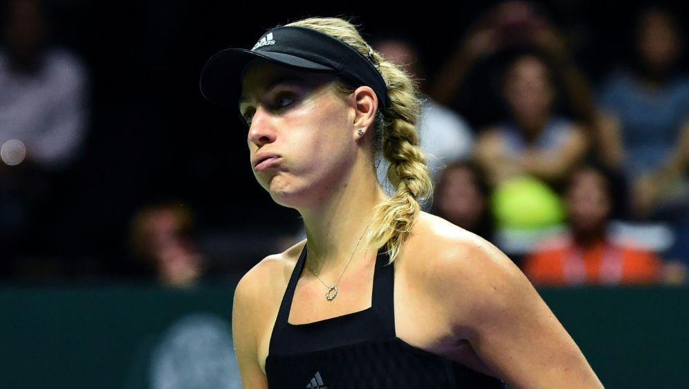 Angelique Kerber verlor ihr Auftaktspiel beim WTA-Finale - Bildquelle: AFPSIDROSLAN RAHMAN