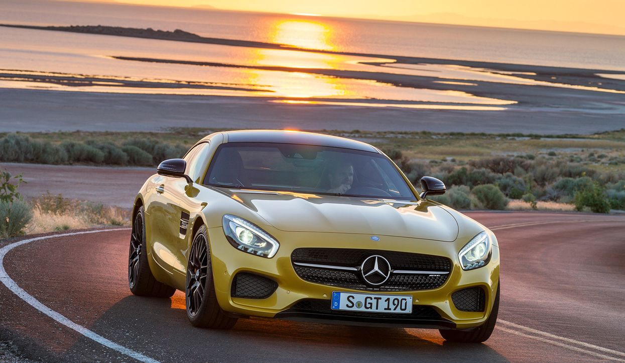 Mercedes AMG GT (14) - Bildquelle: press photo, do not use for advertising purposes
