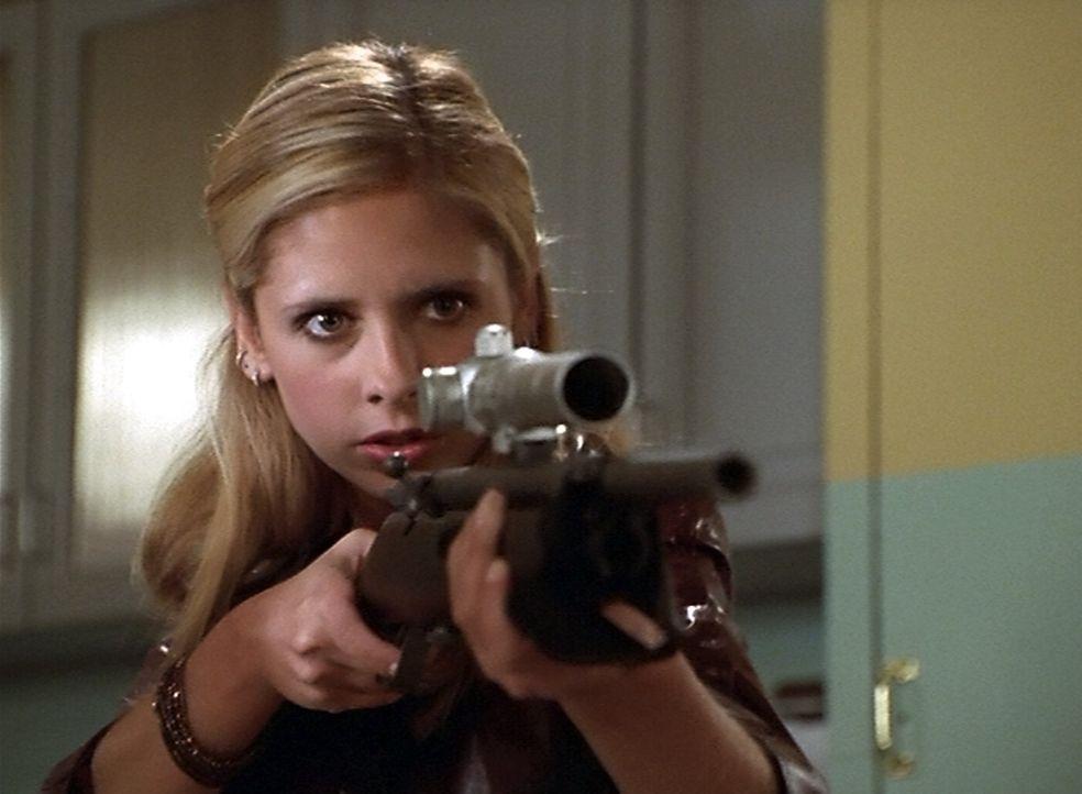 Mit ihr sollte man sich besser nicht anlegen: Vampirjägerin Buffy (Sarah Michelle Gellar) - Bildquelle: (2000) Twentieth Century Fox Film Corporation.