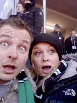 Verena ist großer Fußball-Fan. - Bildquelle: privat