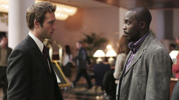 Versuchen herauszufinden, wer Sloane reingelegt hat: Vaughn (Michael Vartan,...