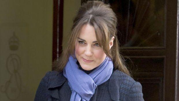Kate Middleton will ihr Kind selbst erziehen