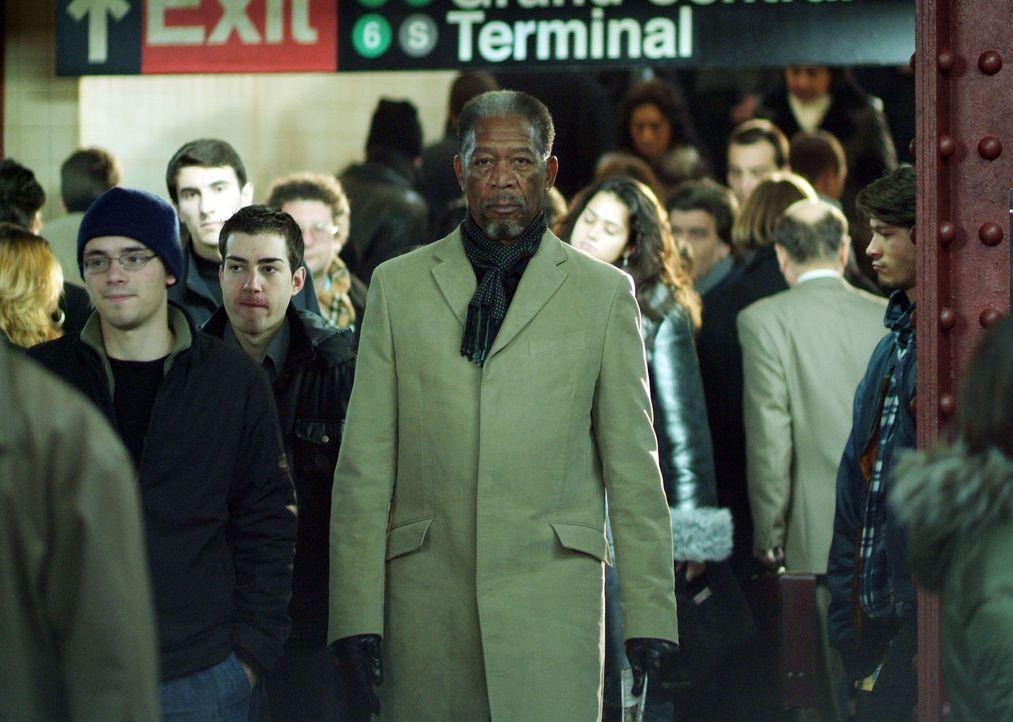 Braucht einen Partner für einen neuen Coup: Kunstdieb Keith Ripley (Morgan Freeman) ... - Bildquelle: Nu Image