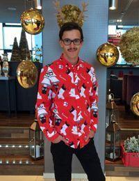 Weihnachtstrend Christmas-Hemd