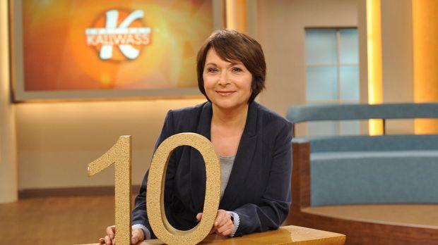Angelika Kallwass feiert Jubiläum! Zehn Jahre