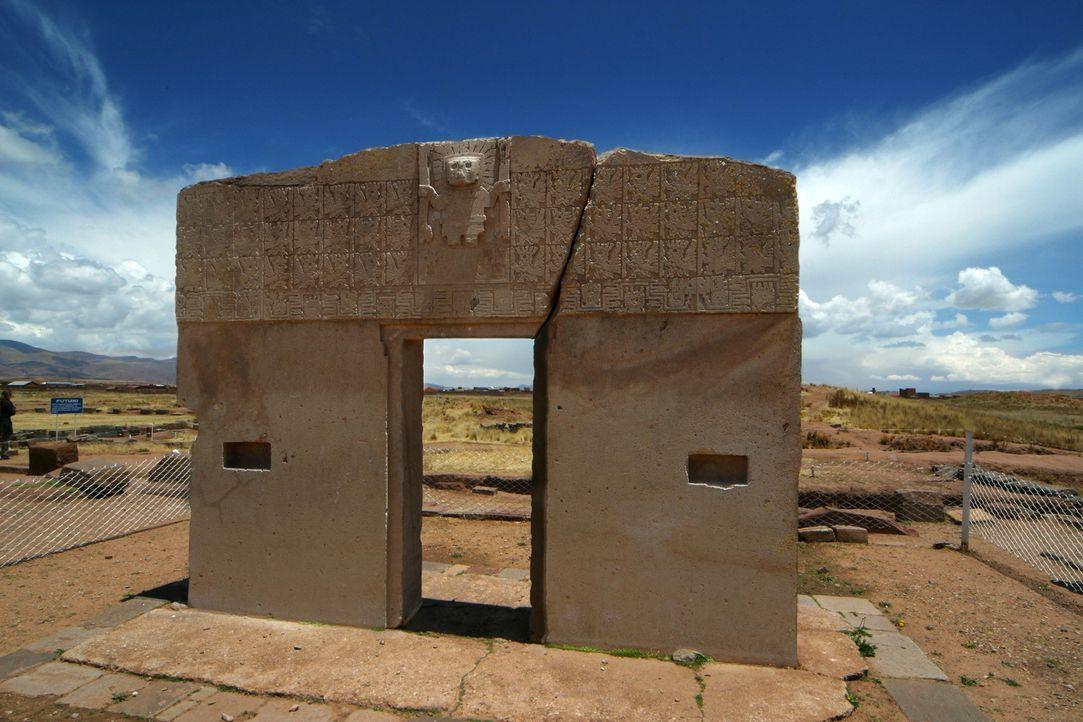 Die Ruinen von Puma Punku sind Teil der Ruinenstätte Tiwanaku in Bolivien. Haben hier Aliens gewohnt? - Bildquelle: Tatjana Ingold