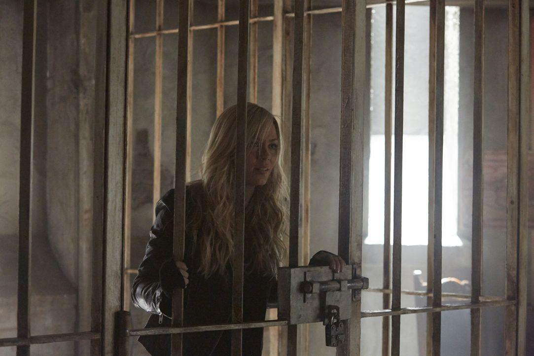 Die Dinge entwickeln sich in Stonehaven anders, als Elena (Laura Vandervoort) vermutet hat ... - Bildquelle: 2014 She-Wolf Season 1 Productions Inc.