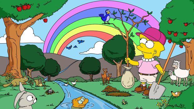 Springfield will einen Sequoiawald roden. Um dies zu verhindern, schließt sic...